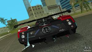 pagani zonda engine pagani zonda cinque for gta vice city