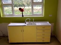 Metal Kitchen Sink Cabinet Unit Kitchen Sinks Metal Kitchen Sink Cabinet Unit Light Yellow And