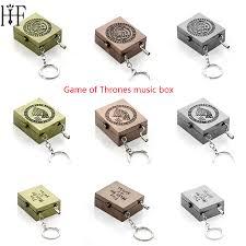 Music Box Keychain Online Get Cheap House Stark Wolf Keychain Aliexpress Com