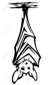 halloween clipart bat cute bat hanging on tree branch black and white halloween