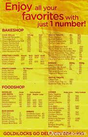 goldilocks filipino bake shop in rizal other provinces