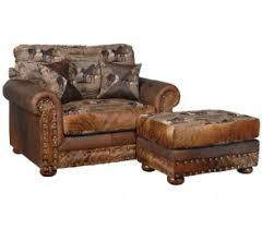 western leather furniture rustic leather living room sofas