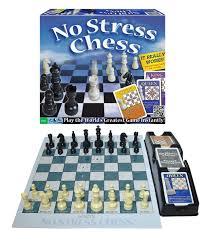 amazon com no stress chess game toys u0026 games