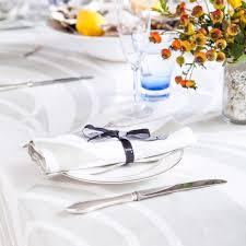Fine Table Linens by Champagne Oysters And Huddleson Linens U0027 Tablecloth And Napkin