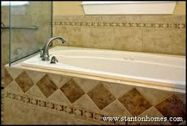 tile tub surround ideas raleigh custom home trends