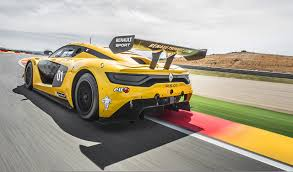 renault rs 01 image renault 2014 sport rs 01 yellow cars back view