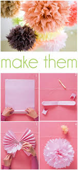 39 easy diy decorations diy decorations paper pom