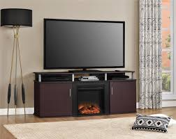 ameriwood furniture carson electric fireplace tv console for tvs