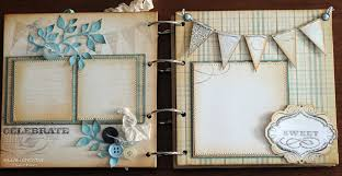 baby boy photo album killam creative baby boy mini album