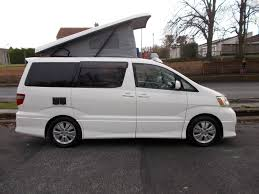 audi minivan toyota alphard camper van our brand new kyle conversion just