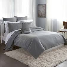 Bed Bath And Beyond Brookfield Love Love This One Dknyâ City Line Duvet Cover In Grey