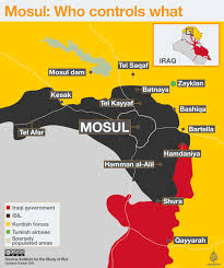 Middle East Map Test by Battle For Mosul U0027real Test U0027 For Regional Powers News From Al