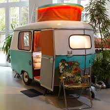 tiny caravans replace rooms at this berlin hotel berlin hotel