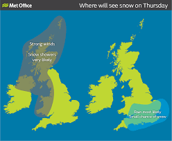 Southampton England Map by Wintry Weather For Much Of The Uk Met Office