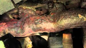 1997 ford f150 exhaust system 1997 f150 v8 4 6 exhaust manifold change
