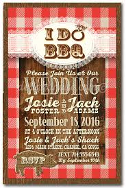 bbq wedding invitations vintage country western i do bbq wedding invitations di 5020