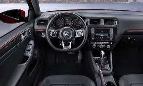 red volkswagen jetta interior 2016 jetta gli sel review