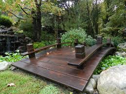 yard bridge simple bridge outdoor ideas pinterest lawn mower bridge and