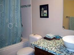 bathroom countertop tile ideas glass tile bathroom countertop room design ideas
