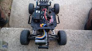 traxxas slash mod 1 gearbox 6s lipo speed run crash youtube