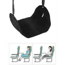 powstro portable flight footrest hammock adjustable travel foot