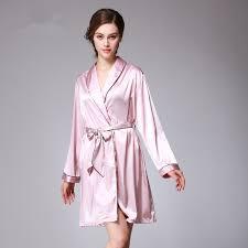 robe de chambre pour femme satin robes de chambre pour les femmes à manches longues kimono