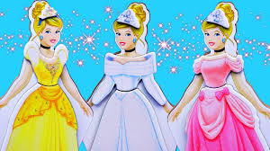 disney princess cinderella dress magnetic doll u0026 palace pets