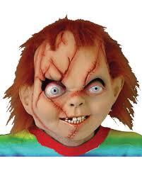 chucky mask chucky horror mask original chucky mask with hair horror shop