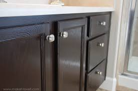 can you stain oak cabinets grey refinish bathroom vanity diy project how to stain oak cabinets