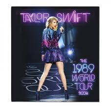 taylor swift the official 1989 world tour 3d tour book album photo