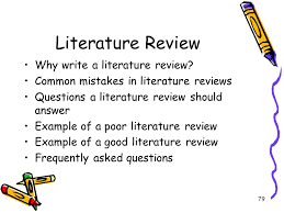 Literature Review Presentation   YouTube