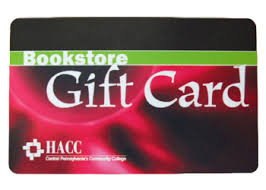 gift card book hacc bookstore gift card hacc central pennsylvania s community