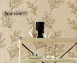 luxurious vintage natural flowery mode floral vinyl pvc wallpaper