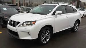lexus 450h 2015 white 2015 lexus rx 450h awd hybrid executive package review