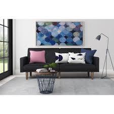 paxson linen futon multiple colors walmart com