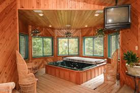 indoor tub room work out room and sauna yes please so