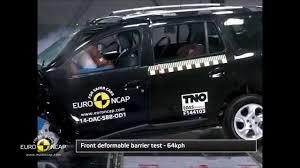 koenigsegg crash test dacia logan mcv crash test about autoworld