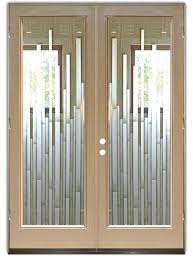 Frosted Glass Exterior Door Frosted Glass Exterior Door Contemporary Glass Front Doors Image