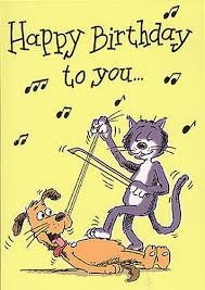 music birthday card u2013 gangcraft net