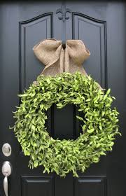 best 25 artificial boxwood wreath ideas on green