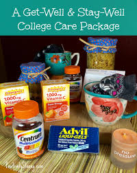 college care packages how to put together a college get well stay well care package