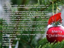 weihnachtsgrüße bürger schützenverein waltrop