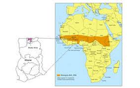 africa map gambia multimedia gallery the meningitis belt stretches across africa