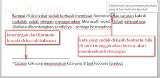membuat novel di ms word cara cepat membuat footnote atau catatan kaki di word video