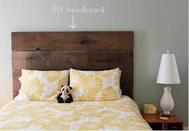 how to make a headboard out of wood best 25 diy headboard wood