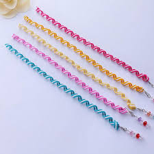 elastic hair bands 6pcs lot rainbow color headband hair band