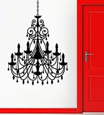 Chandelier Stencils Amazon Com Large Hanging Chandelier Wall Stencil Sku 3634a By