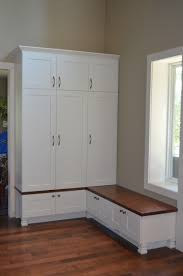 furniture white mudroom lockers ikea with pretty bench and