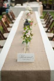 wedding reception table runners historic cedarwood wedding from evan baines photography