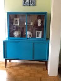 chalk paint mid century china cabinet finished projects
